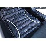 FRONTLINE Anti Skid Barfi Finish Car Foot Mats For New Maruti Baleno-Silver