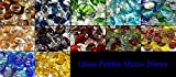 Mosaic Tile Supplies 1kg (app 230) Colourful Mixed Glass Pebbles/Stones/Gems/Nuggets/Beads 20mm Various Mixes