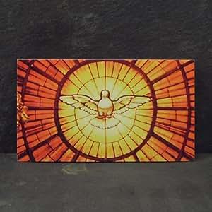 Carte de prière catholique - la prière à l'Esprit Saint - le libellé article est en anglais