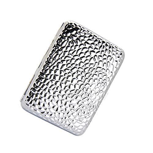EEKUY Metall Hochwertigen Zigarettenetui, ultradünne Tragbare Männlichen Reinem Kupfer Chrom Persönlichkeit Kreative Zigarettenspitze 3,74 * 1,97 * 0,63 ''
