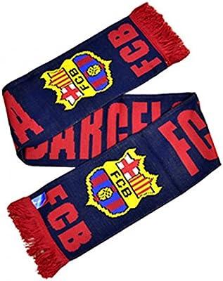 FC Barcelona - Bufanda oficial invierno Modelo Crest