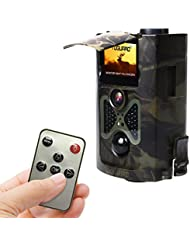 """TOGUARD® H50 Wildlife Camera 12MP Full HD 1080P Infrared Night Vision Time Lapse 2.0"""" Color LCD Display 48 Pcs IR LEDs 120° Wide Angle PIR Sensor Waterproof Trail & Game Hunting Scouting Surveillance Camera Camouflage"""