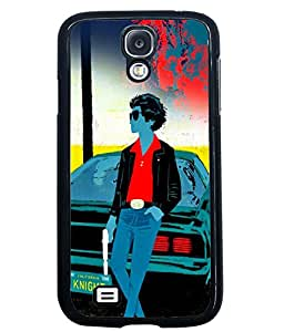 Printvisa 2D Printed Gun Man Designer back case cover for Samsung Galaxy S4 SM - I9505 - D4259
