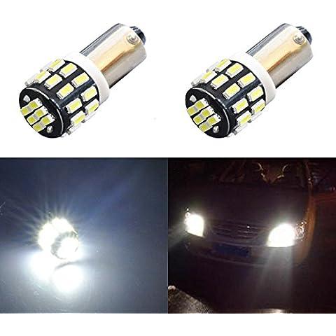 AGLINT Auto LED Luz De Freno Ba9s 3014 30 SMD de 12-24 voltios de vehículos de control FPC Paquete llevó la luz de