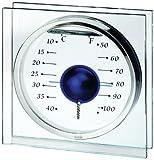 Koch 10211 Deko-Thermometer Magic Ball, blau