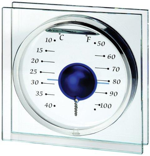 Koch 10211 Deko-Thermometer Magic Ball, blau (Köche Kugel)