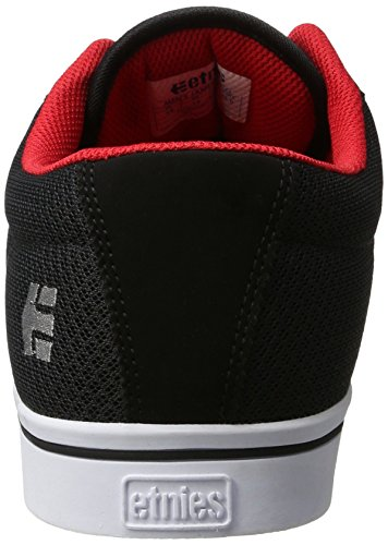 Etnies Herren Jameson 2 Eco Sneaker Schwarz (Black/White/Red)