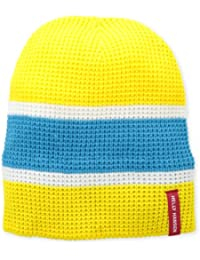Helly Hansen Chunky Knit Beanie, mujer, color Bright Yellow, tamaño talla única