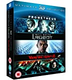 Prometheus / I, Robot / Abraham Lincoln Vampire Hunter Triple Pack (Blu-ray 3D)