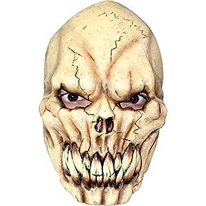 Générique AEC-mahal638-Máscara de Calavera con terrifiante látex Adulto