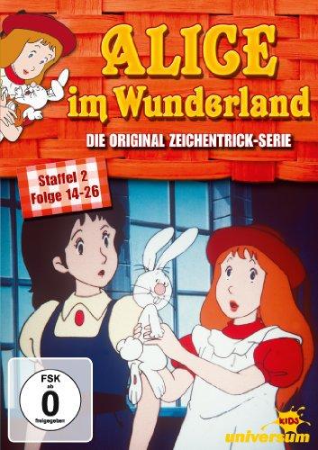 Alice im Wunderland - Staffel 2, Folge 14-26 [2 DVDs]