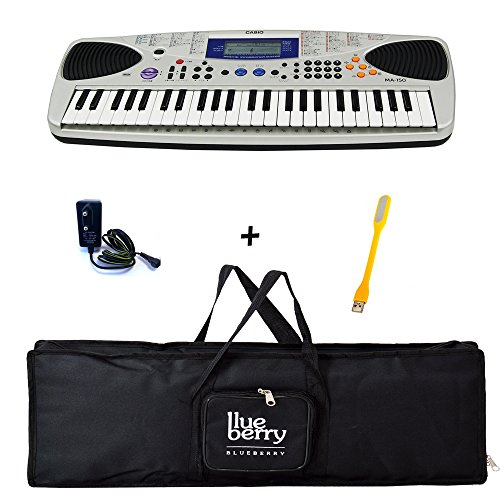 Casio Ma-150 Music Keyboard,Power Adapter, With Heavy Bag (Taal Pack)  available at amazon for Rs.5395