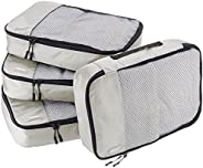 Amazon Basics Packing Cubes - 4 Piece Sets
