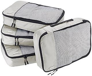 AmazonBasics Lot de 4sacoches de rangement pour bagage TailleM, Gris (B014VBI5MS)   Amazon Products