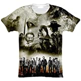 The Walking Dead T-Shirt Homme Sublimation (Large)