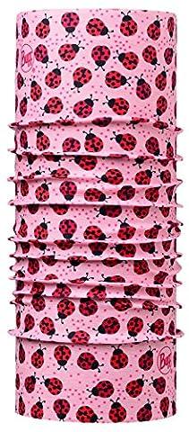 BUFF ENFANT Foulard Multifonctionnel Coccinelles, rosé/rouge, Polyester, taille