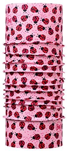 buff-enfant-foulard-multifonctionnel-coccinelles-rose-rouge-polyester-taille-2-4