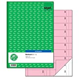 Sigel BO112 Bonbuch, 1000 Abrisse rosa, DIN A4, 2x50 Blatt