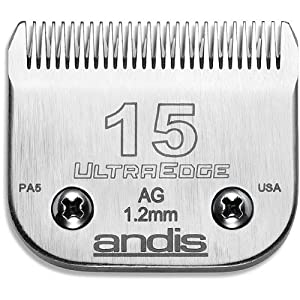 Andis UltraEdge Size 15 Dog Grooming Clipper Blade from Andis