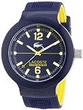Lacoste Herren-Armbanduhr Analog Quarz Silikon 2010704