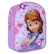 952e1caab0 Zainetto Bambina Sofia la Principessa - Zaino per scuola e asilo - Cartella  scolastica con spallacci