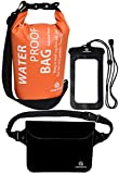 Best The Friendly Swede Bags For Travels - Waterproof Dry Bags Set Of 3 By Freegrace Review