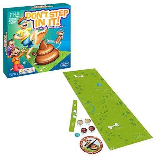 Hasbro Gaming - Ne Marche Pas Dedans - Don't Step In It - E2489