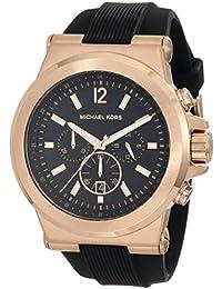 Michael Kors correa de reloj MK8184 Caucho / plástico Negro 13mm(Sólo reloj correa -