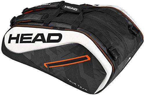 HEAD Tour Team 12r Monstercombi Schlägertasche Schwarz