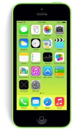Apple iPhone 5c 4  SIM   nica 4G 16GB Verde - Smartphone  10 2 cm  4    16 GB  8 MP  iOS  7  Verde