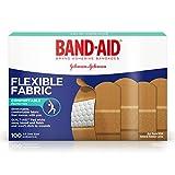 band-aid brand flessibile tessuto bende adesive per ferite e primo soccorso, All One size, 100ct