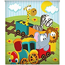 Blindecor W-I-49663 - Estor enrollable translúcido, estampado digital, 150 x 180 cm, multicolor