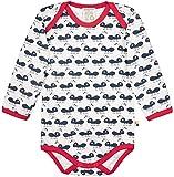 loud + proud Unisex Baby Body Langarm aus Bio Baumwolle, GOTS Zertifiziert Spieler, Blau (Navy Ny), Herstellergröße: 62/68