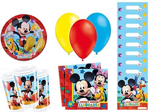 Mickey kit Anniversaire 8 Personnes