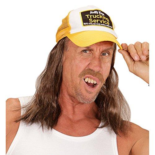 NET TOYS Trucker Basecap mit Haaren Rednecks Baseball -