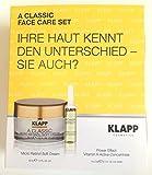 KLAPP A CLASSIC Face Care Set - MICRO RETINOL SOFT CREAM 30ml + Power Effect Vitamin A Active Concentrate 4X2ml