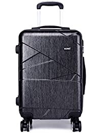Kono Designer Light Weight Hardshell 4 Spinner Wheels Travel Trolley Suitcase Luggage 3 Piece Set/ 20'' inch Cabin Size