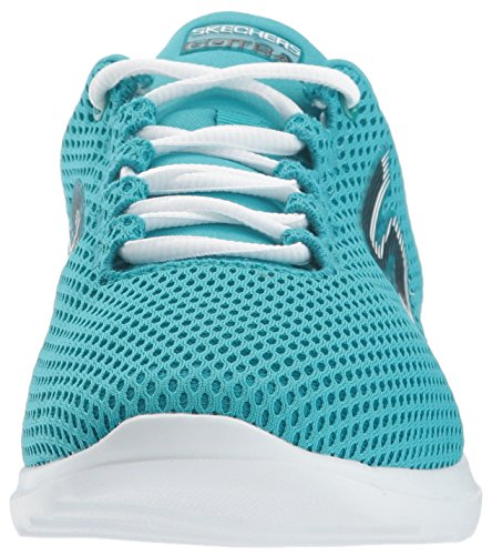 Skechers Go Train-Hype, Sneakers Basses Femme Turquoise