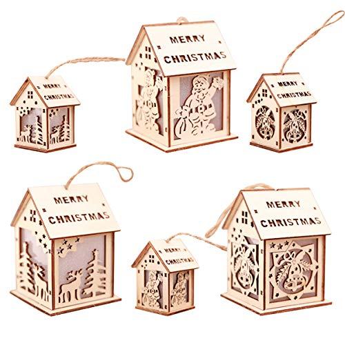 XULONG Decoraciones del Árbol De Navidad