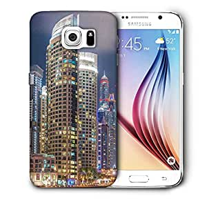 Snoogg Lights In The Building Printed Protective Phone Back Case Cover For Samsung Galaxy S6 / S IIIIII
