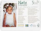 Naty by Nature Babycare Nappy Pants - Junior Size 5 (26-40lbs) 20s (Pack of 4)