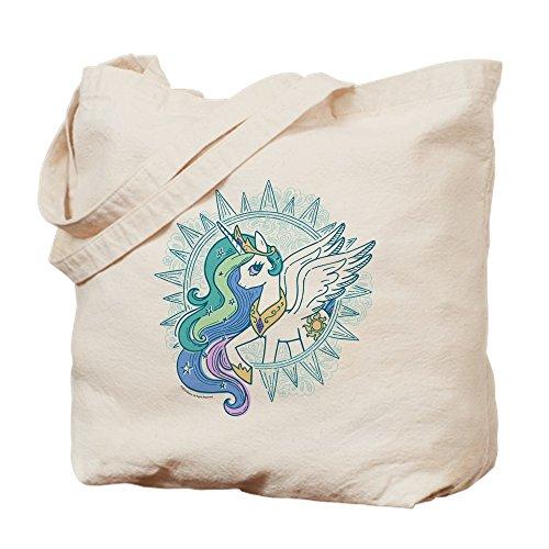 Pony Celestia Tragetasche, canvas, khaki, M ()