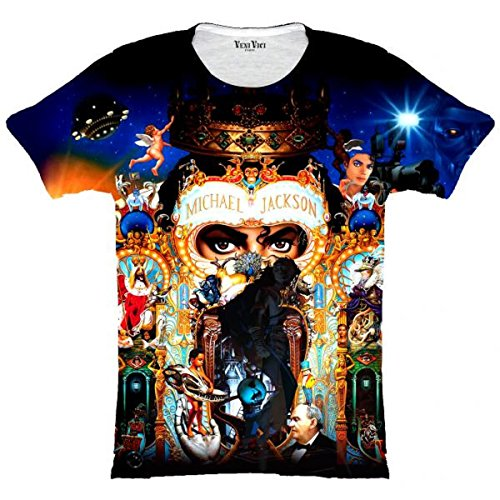Veni Vici T-Shirt Michael Jackson Mehrfarbig
