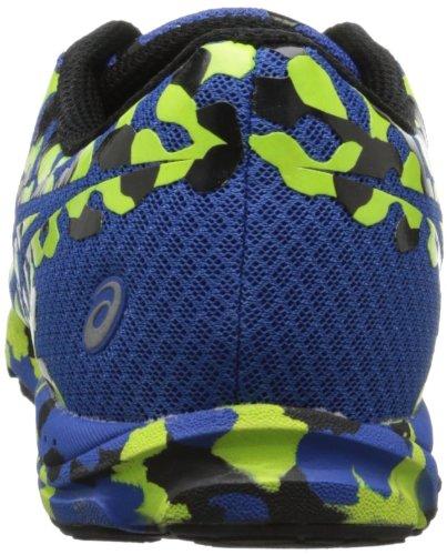 Asics, Scarpe da corsa uomo (Royal/Fluorescent Yellow/Black)