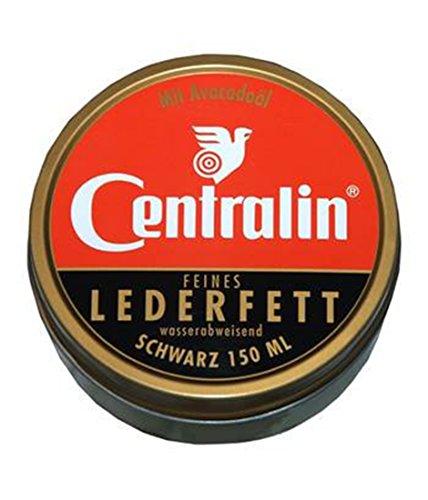 Centralin Lederfett schwarz