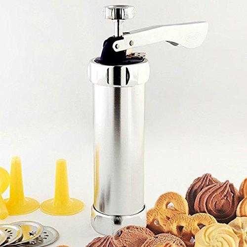 Cookie Press Set, faway Haushalt Manuelle Biscuit Maschine Keks Kuchen Form Set Dekorieren Gun