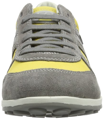 Geox  U XITY A, Peu homme Gris - Gelb (LIME/STONE C2032)