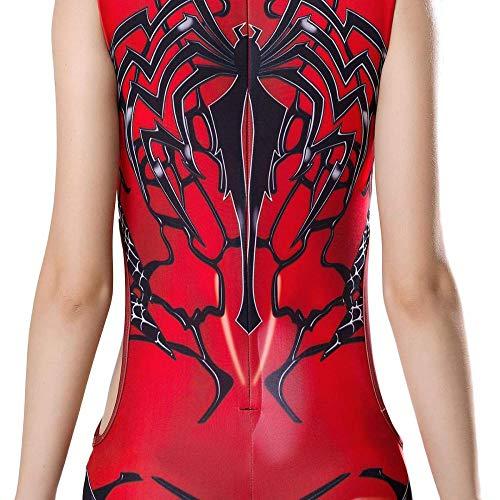 GYJVBFS Erwachsene Kinder Spider-Man Damen Badeanzug Venom Spiderman Cosplay Bademode Beachwear Super Hero Printing Badeanzug,Purple