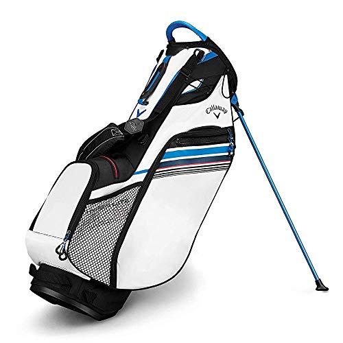 Callaway Hyper-Lite 3 Bolsa para Palos de Golf, Hombre, Negro/Blanco/Azul, Talla Única
