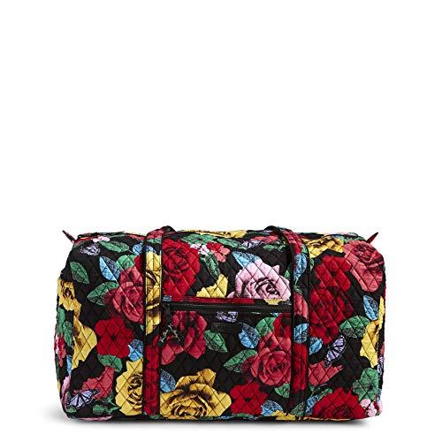 Vera Bradley Große Duffel Bag, Baumwolle, Signature, (Havana Rose), Einheitsgröße